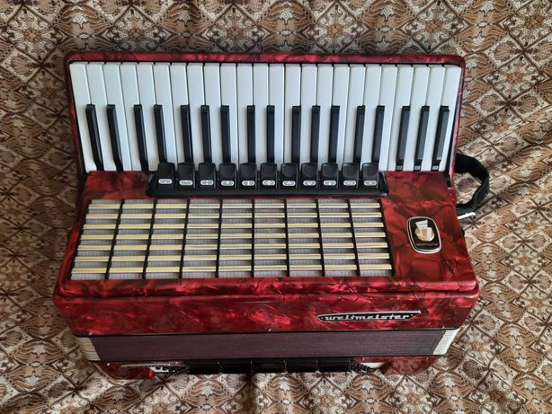 akordeon weltmeister stella 120b idealny