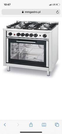 Kuchnia gastronomiczna gazowa 5-palnikowa z piekarnikiem |HENDI 225707