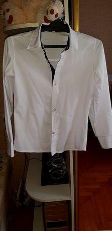 Белая рубашка на подростка