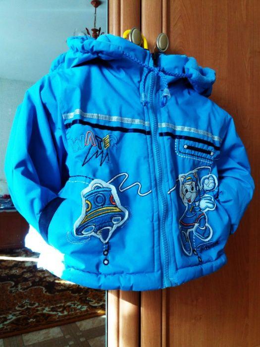 Курточка демисезонная на 1-2 года Борисполь - изображение 1