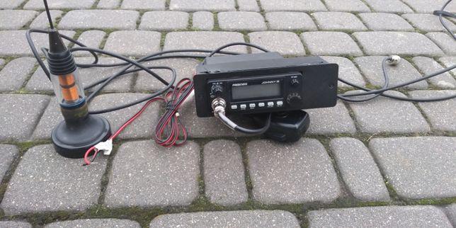 CB radio z anteną
