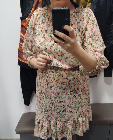 Piękna sukienka hiszpanka kwiaty