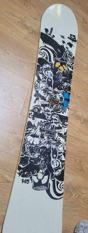 Deska snowboardowa, snowboard 145