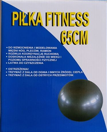 Piłka fitness 65cm + pompka