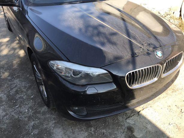 BMW F10 разборка запчасти Бампер капот крыло дверь фары би ксенон LED
