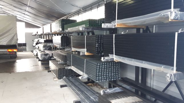 Słupek ogrodzeniowy 60x40x1,5 2,2 mb ocynk + RAL