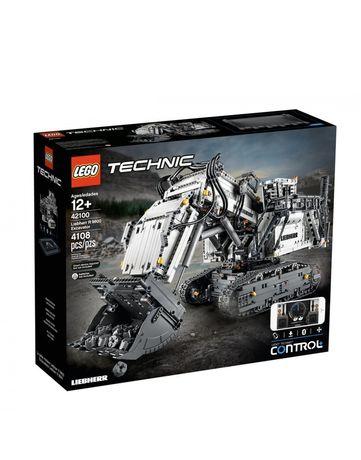 Lego 42100 . LEGO TECHNIC Экскаватор Liebherr R 9800 (42100)