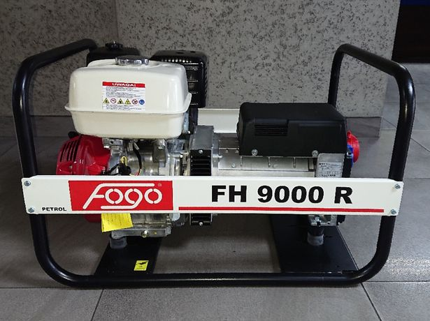 Agregat prądotwórczy FOGO FH9000R AVR 7 kW 400V HONDA
