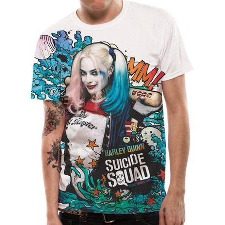 Vários modelos T-shirt Harley Quinn e Joker (Produto novo e embalado)