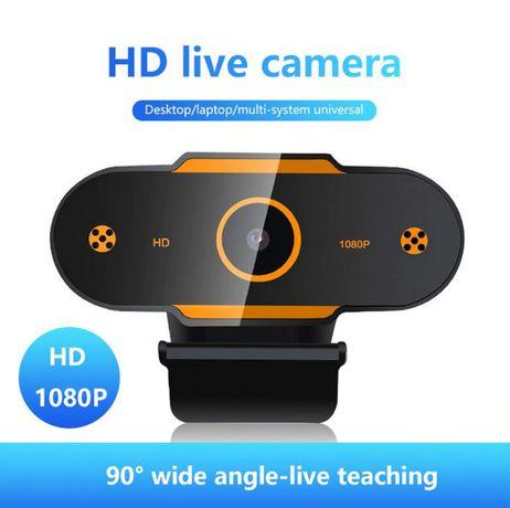 Професійна Веб-камера Full HD 1080p з мікрофоном , USB Webcam