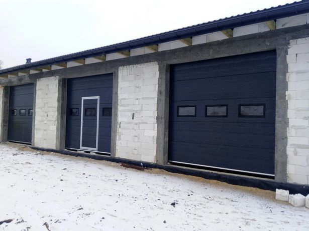Ciepła brama garażowa od producenta każdy wymiar
