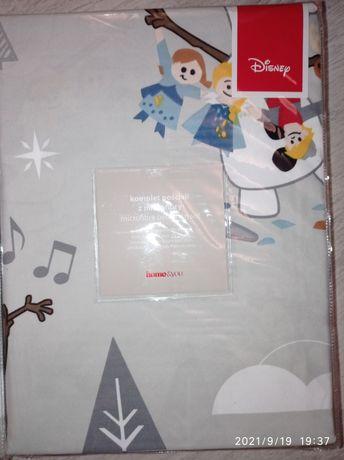Piękna świąteczna pościel dla dziecka olafun