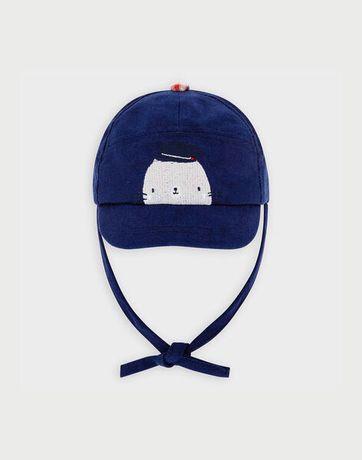 Chapéu azul ganga - Sergent Major 6/9 meses