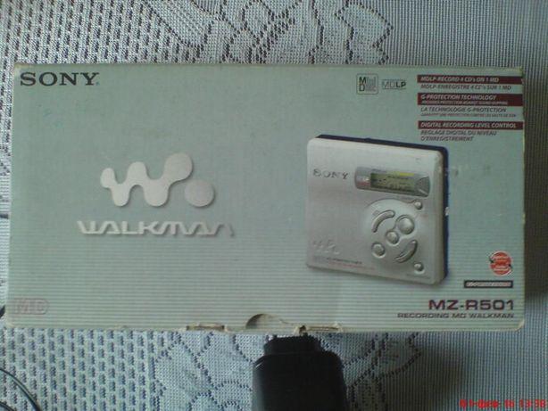 мини дисковый пишущий плеер SONY MZ-R501