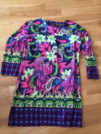 Sukienka w kwiaty roz. XL