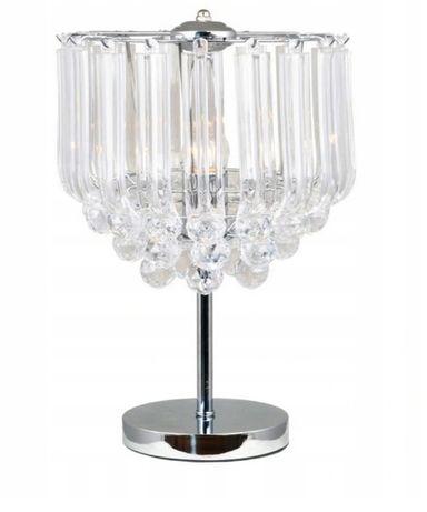 Lampka nocna seria Utah stołowa biurkowa styl Glamour