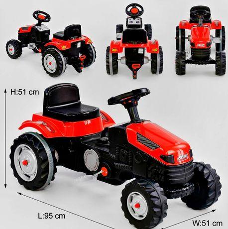 Гарантия! Педальный цепной трактор на педалях