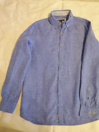 Льняная рубашка Massimo Dutti, 13-14 лет