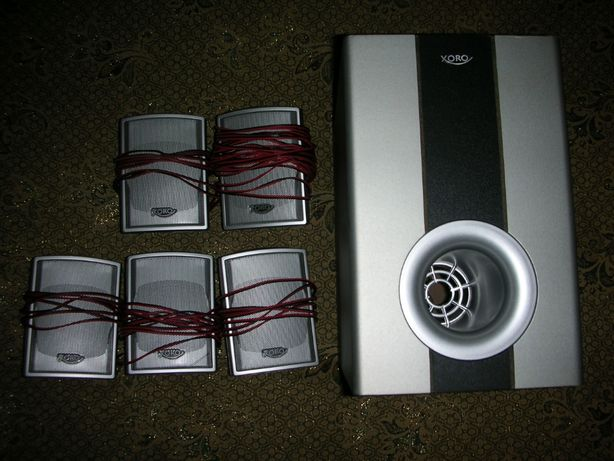 Акустическая система Xoro HXS6020 с сабвуфер (+двд плеер) обмен