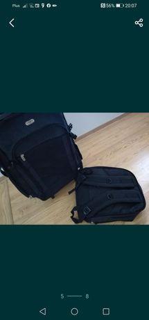 Walizka i plecak UMBRO kółka