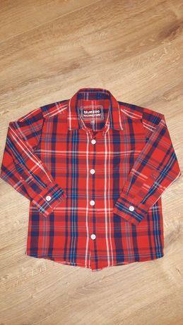 Рубашка в клеточку Bluezoo 3-4 года 98 см