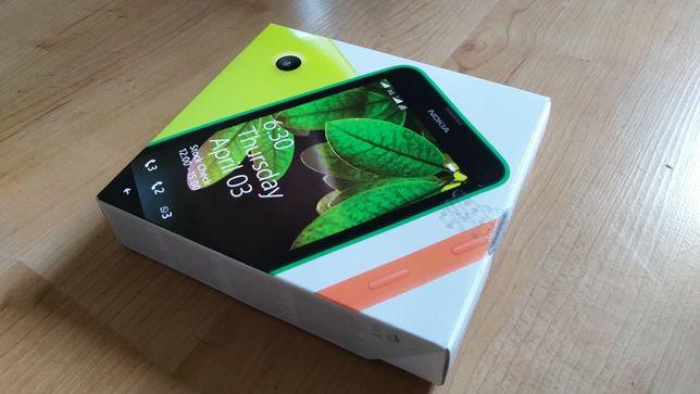 Nokia Lumia 630 Dual Sim czarna, mało używana, zadbana, dobra bateria!