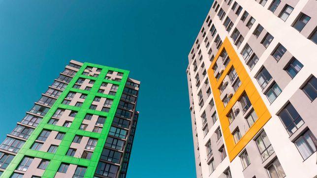 Продаж 1 к. квартири з панорамним вікном, ЖК Щасливий, 3 черга