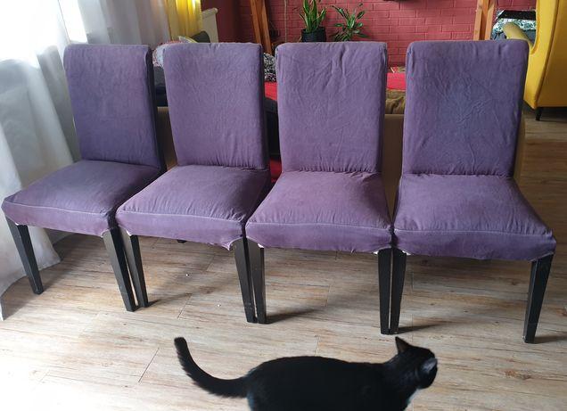 Krzesła IKEA komplet HENRIKSDAL 4szt krzesło
