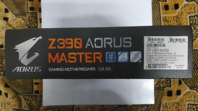 Gigabyte Z390 Aorus Master 1151v2 на гарантии