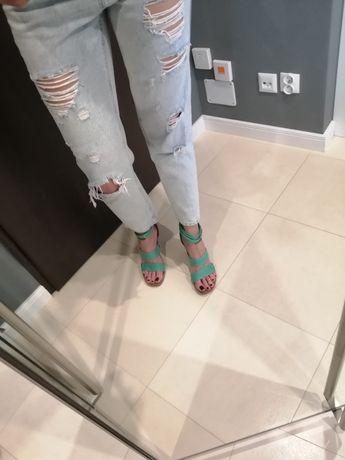 Sandałki koturny Tommy Hilfiger