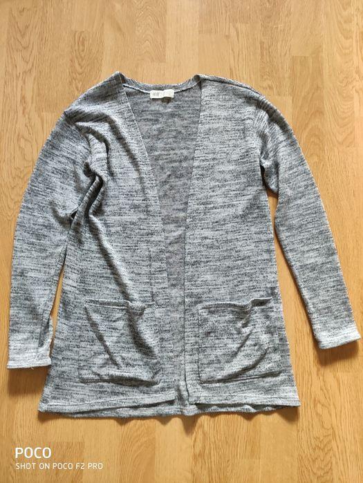 Sweter, narzutka, kardigan H&M, rozm. 146 Świerklaniec - image 1