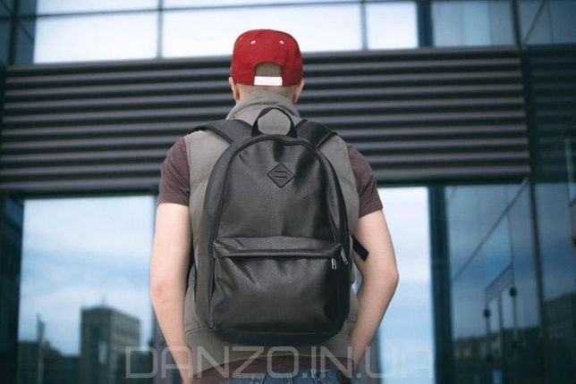 Рюкзак кожаный mod.BORDER экокожа мужской рюкзак портфель сумка