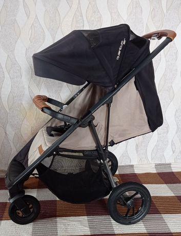 Easy go guantum air sand прогулочная коляска+зимовий конверт з муфтами
