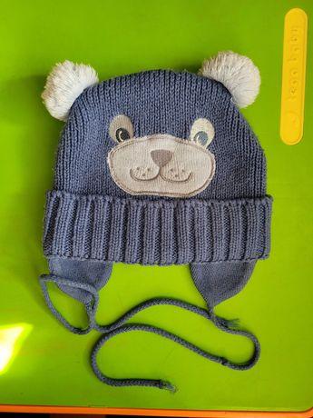 Мальчику шапка зима 3-4 года