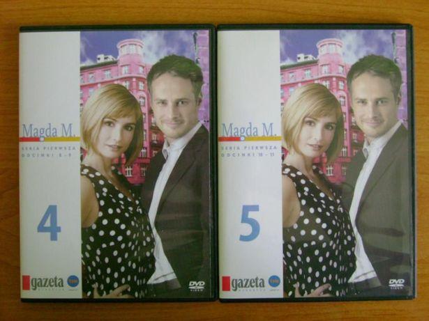 Magda M.- Seria 1, odc.8-11 (Brodzik, Małaszyński) - DVD