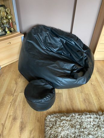 Fotel SAKO Komfort XXXL + PUFA XL; Worek Sako