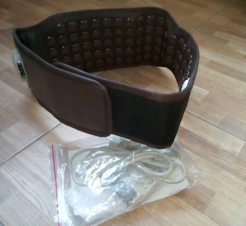 турманиевый(турмалиновый.корея) пояс-массажер,компактный, с подогревом