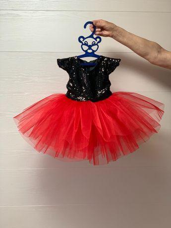 Новое нарядное платье 1 годик