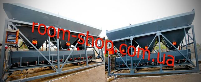 Бункер дозатор, ленточный конвейер, транспортер, БСУ, дозуючі комплекс