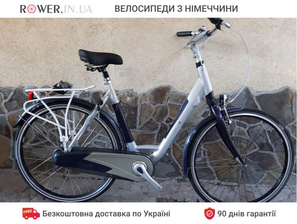 Велосипед дамка бу з планетарною втулкою Sparta 28 D3/ Алюмінієва рама