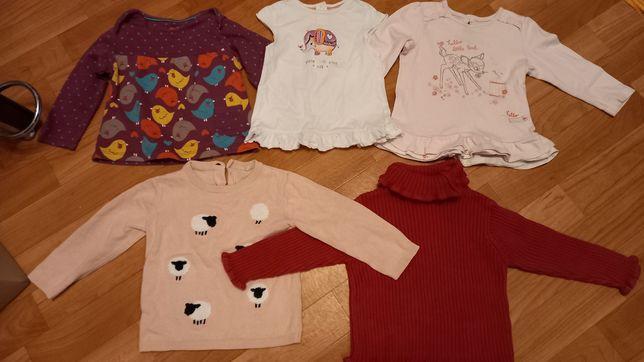 Одежда для девочки (2 года), кофточки, лосины, бриджи