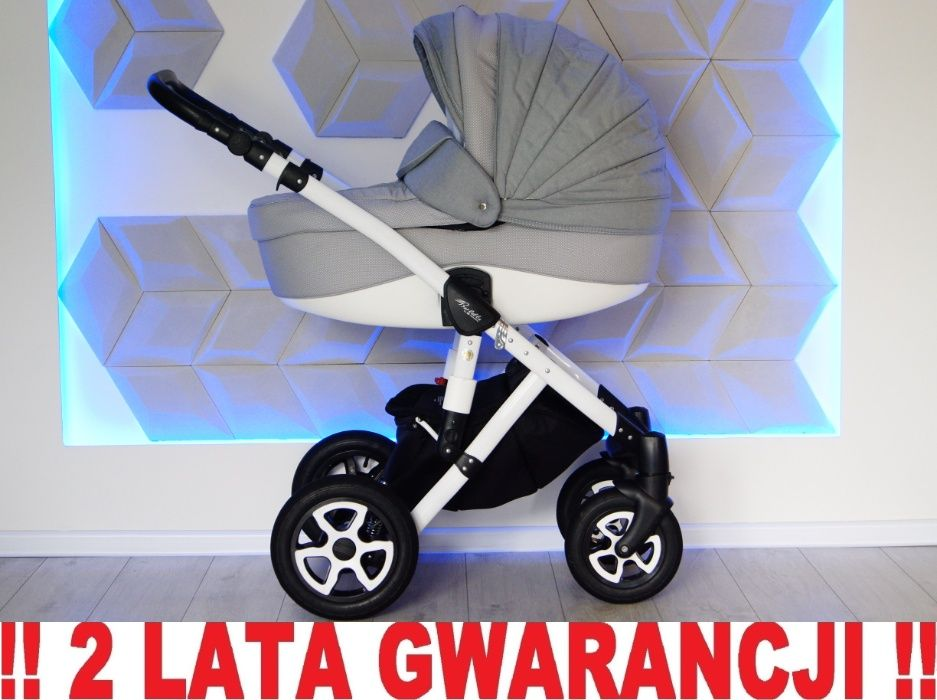 Wózek ADAMEX BARLETTA 3w1 uniwersalny SZARY !! WYSYŁKA ! Elbląg - image 1