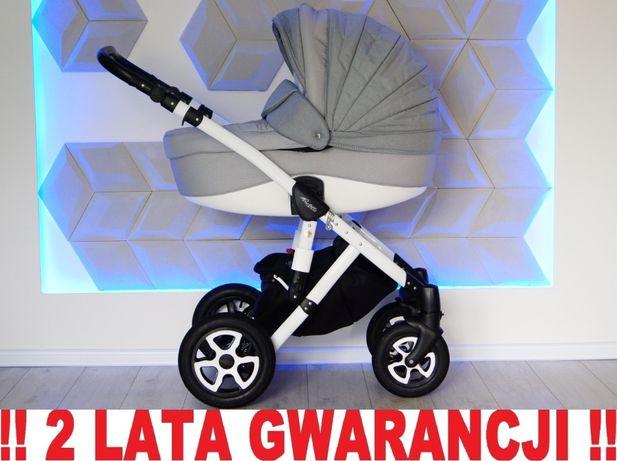 Wózek ADAMEX BARLETTA 3w1 uniwersalny SZARY !! WYSYŁKA !