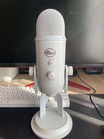 Mikrofon Pojemnościowy Blue Yeti USB - Whiteout