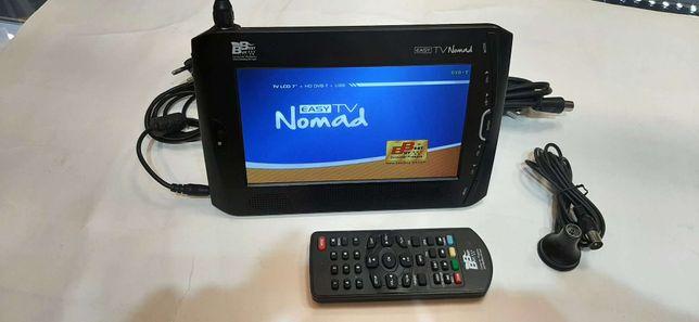 """Telewizor LCD 7"""" Nomad easy --- Lombard Madej Gorlice ---"""