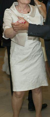 Sukienka + bolerko zestaw