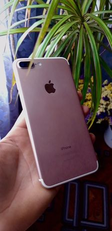 Iphone 7 Plus rose gold чорний дисплей 32gb neverlock