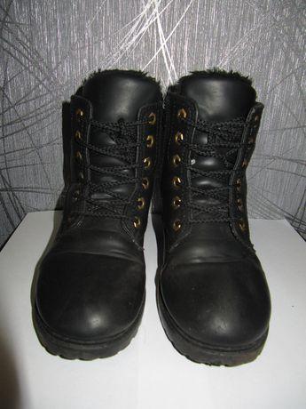 Ботинки зимние для подростка, размер 39