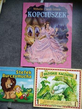3 książeczki dla dzieci za 5 zł