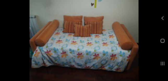 Sofá cama 200 x 90cm, extensível